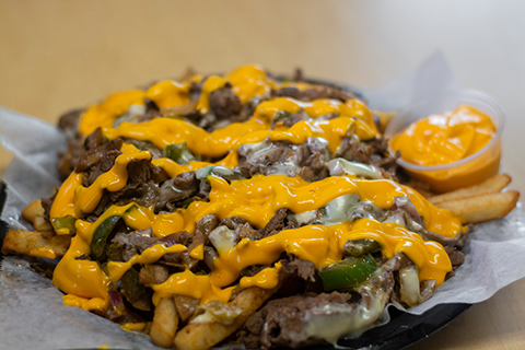 Philly Cheesefries