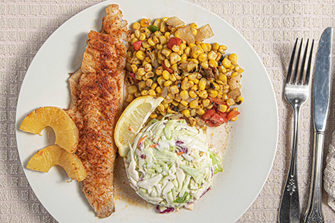 Grilled Walleye
